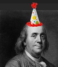Ben Franklin Bday hat