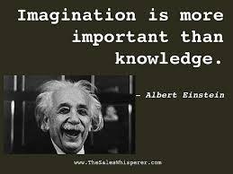 imagination einstein