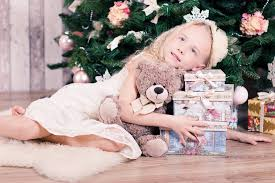 girl-and-christmas-presents